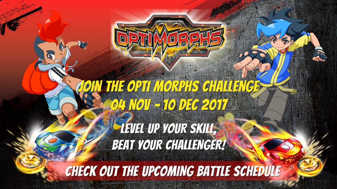 Join the Opti Morphs Challenge!